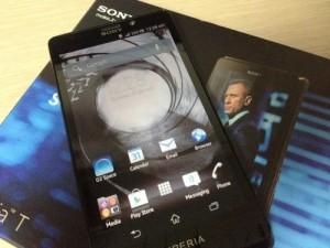 SONY「Xperia T」007限定モデル The Bond Phone