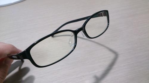 Jins pc clear lens black 2