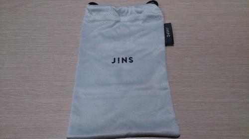 Jins pc clear lens black 3