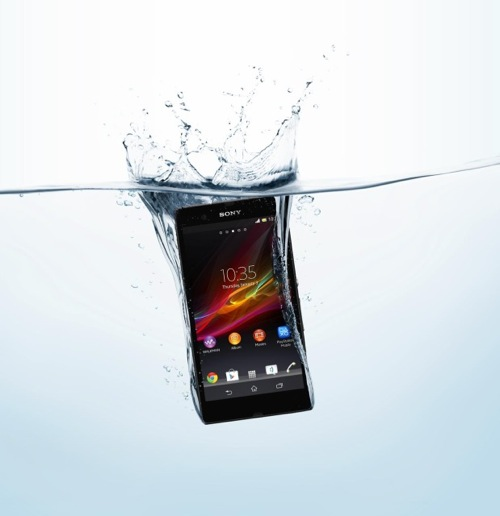 Xperia z and zl in ces 2013 10