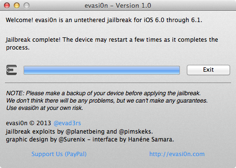 Iphone jailbreak with evasi0n 5