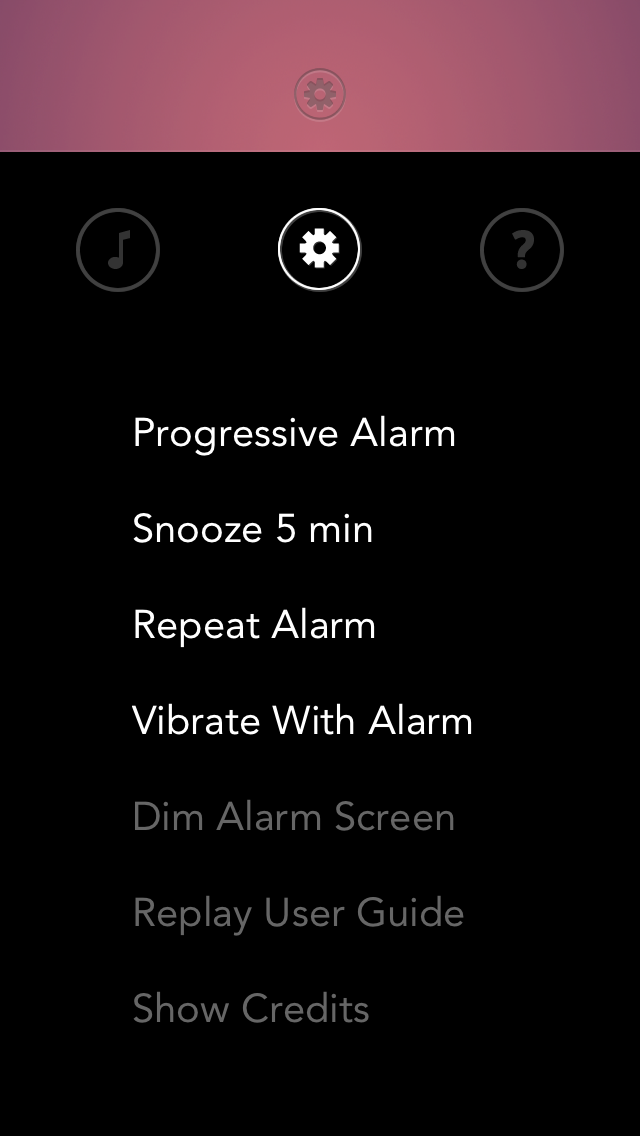 Rise alarm clock beautiful ui 2