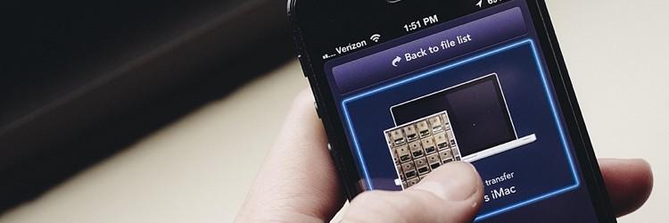 iPhone/iPad/Mac間でワイヤレスにファイル転送ができる「Instashare」
