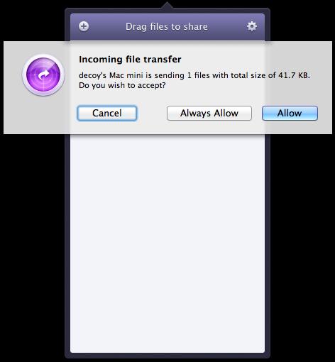 Instashare mac ios wireless file transport 9