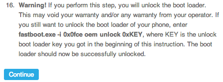 Xperia z bootloader unlock 2