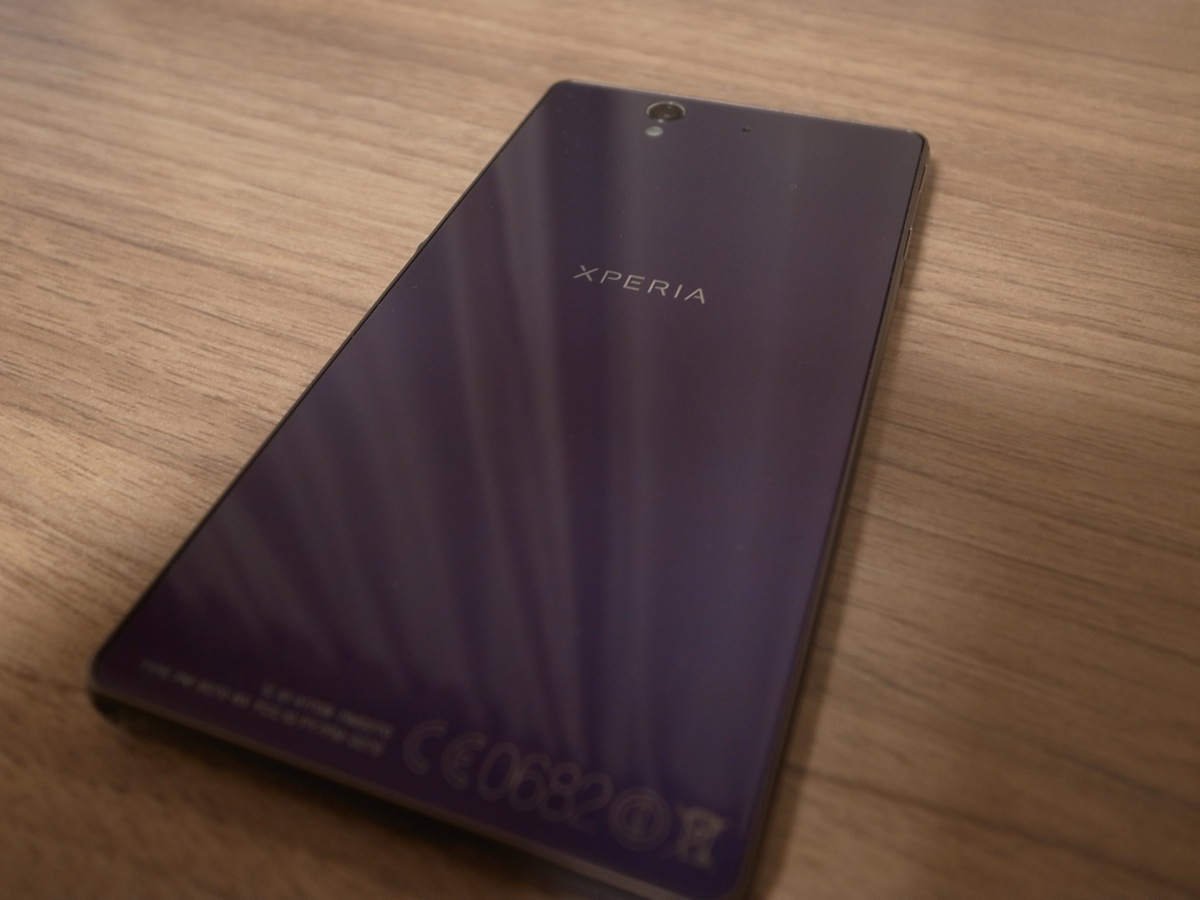 Xperia z purple 11