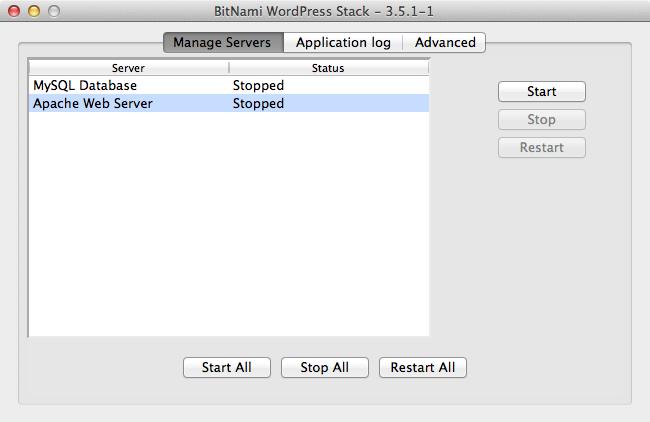 Bitnami local wordpress cant access 3