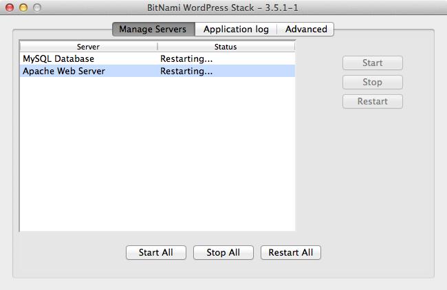 Bitnami local wordpress cant access 4