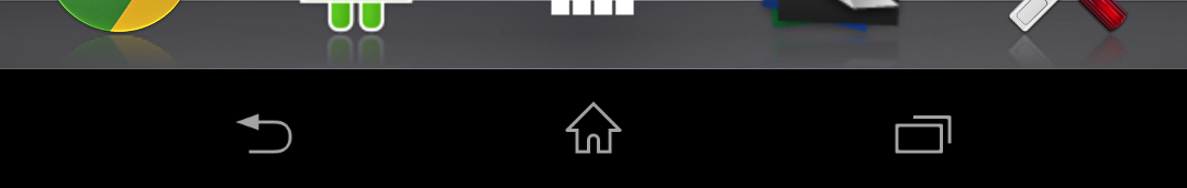 Xperia z docomo status bar and task switcher 4