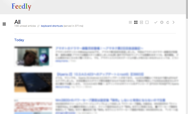 To google reader from feedly 5
