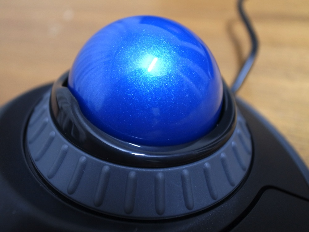 Trackball mouse debut 04