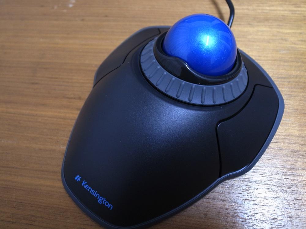 Trackball mouse debut 05