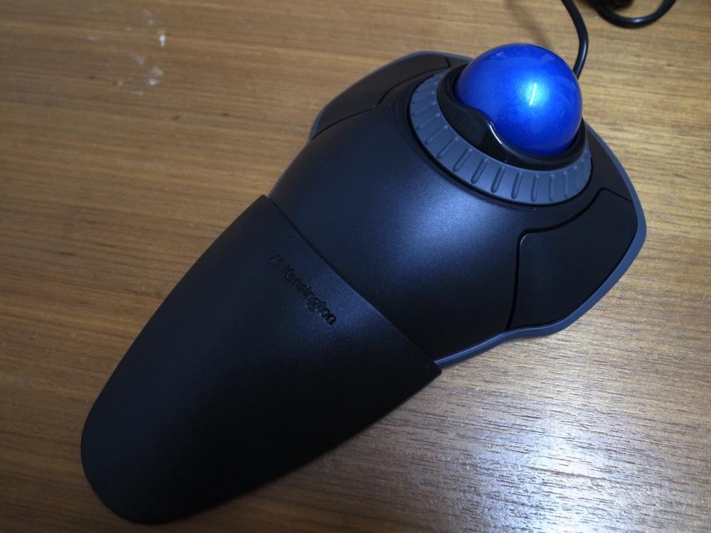 Trackball mouse debut 07