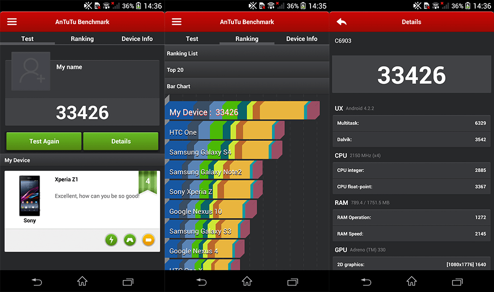 Xperia z1 software review 3
