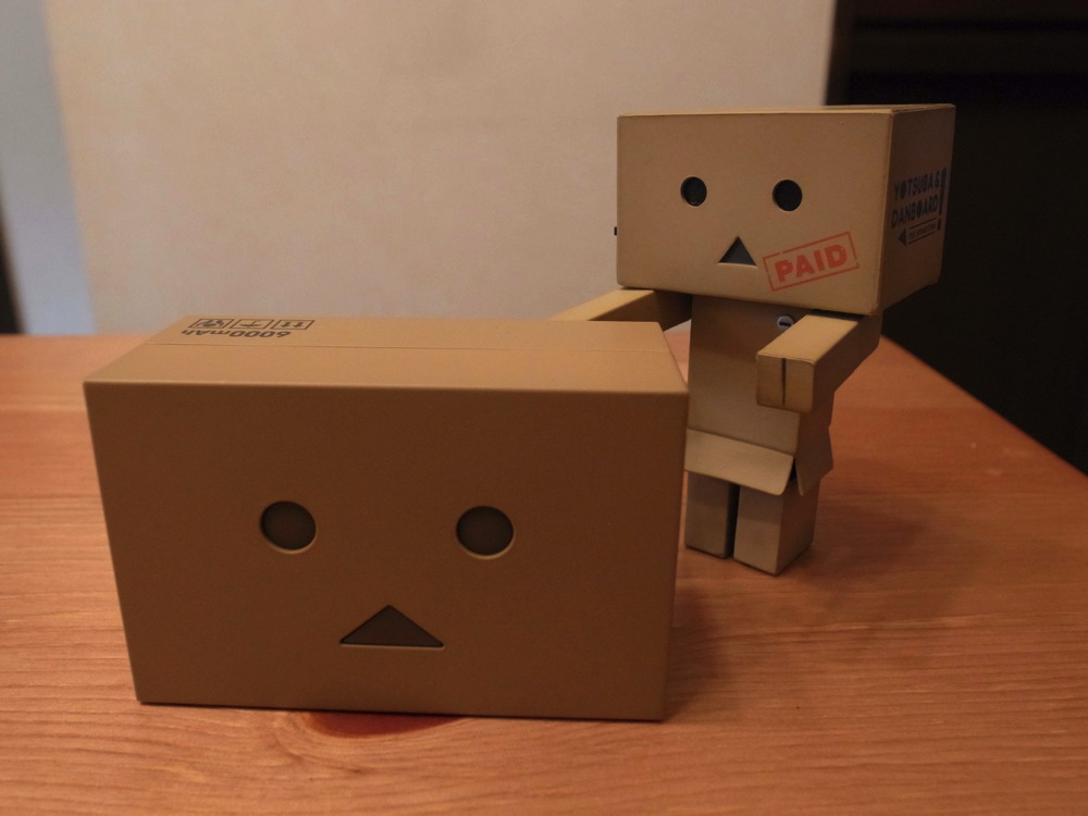 目が光る!かわいい!「cheero Power Plus DANBOARD version -mini- 」を買った!