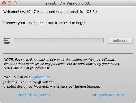 Iphone 5 ios 7 jailbreak evasi0n7 1