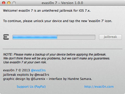 Iphone 5 ios 7 jailbreak evasi0n7 3