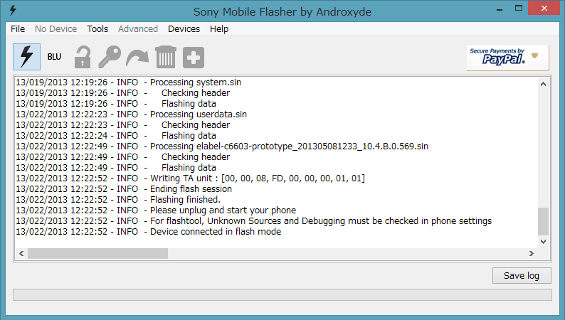 Xperia z android 4 3 104b0569 update 4