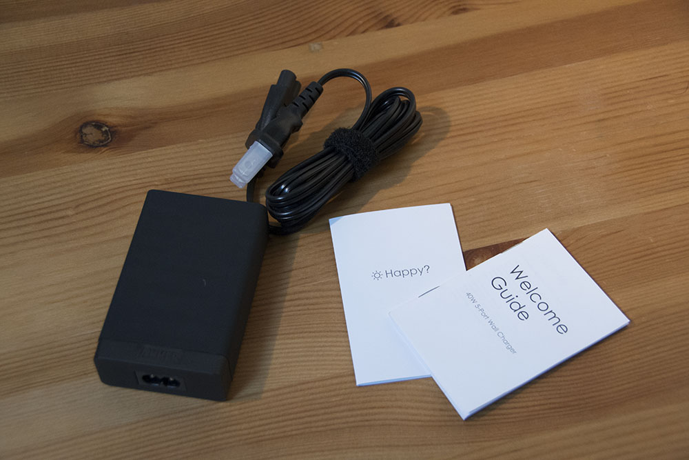 Anker 40w 5port usb charger 09