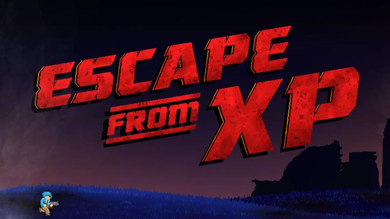 マイクロソフト製、XPを駆逐するゲーム「Escape from XP」