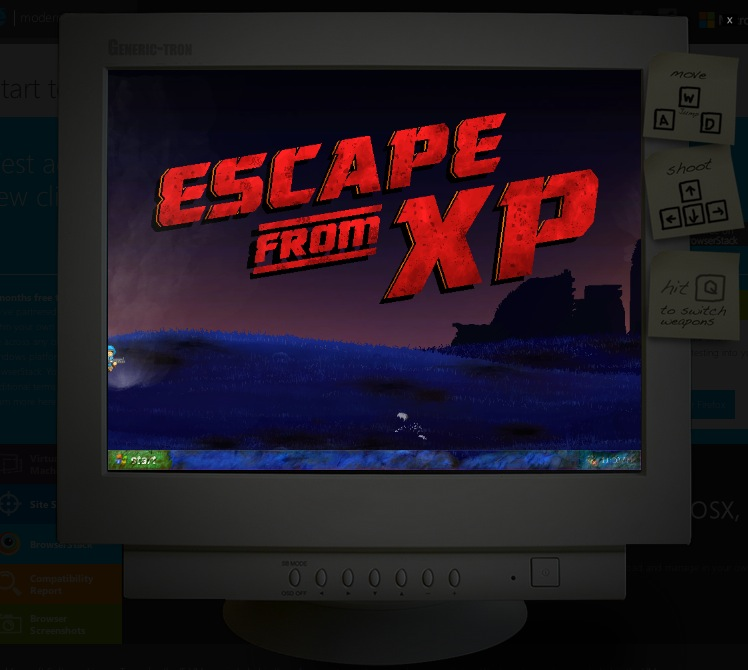 Escape from XP 07