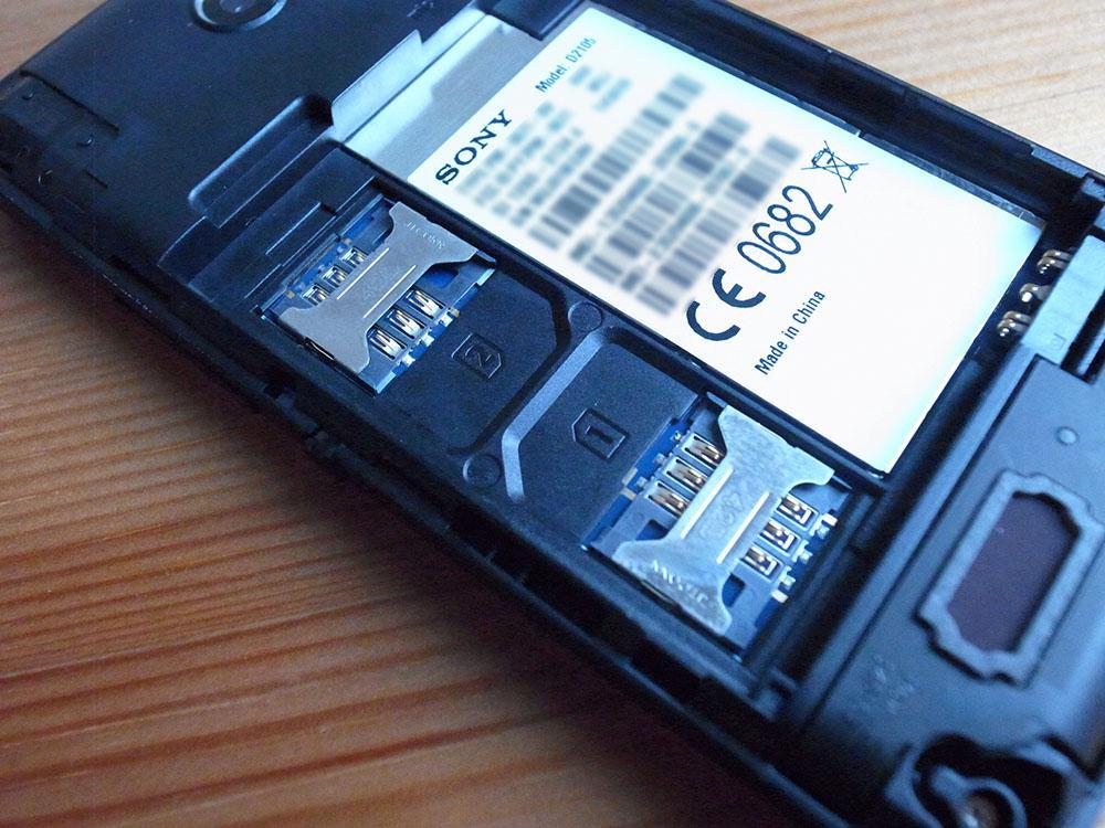 Xperia E1 Dual D2105 review 11