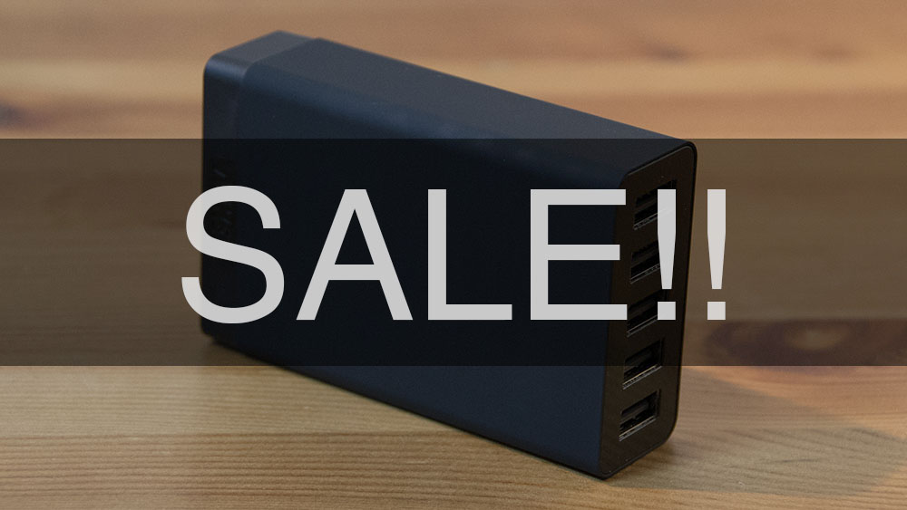 Anker 40w 5port usb charger sale
