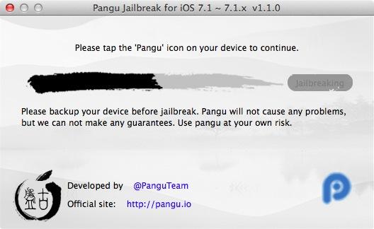Pangu ios 7 1 2 Jainbreak 09