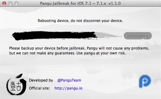 Pangu ios 7 1 2 Jainbreak 11