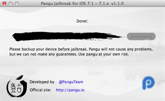 Pangu ios 7 1 2 Jainbreak 13