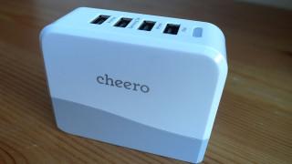 cheeroからコンセント直挿しのUSBアダプターが登場!プラグは折り畳み可能でコンパクト