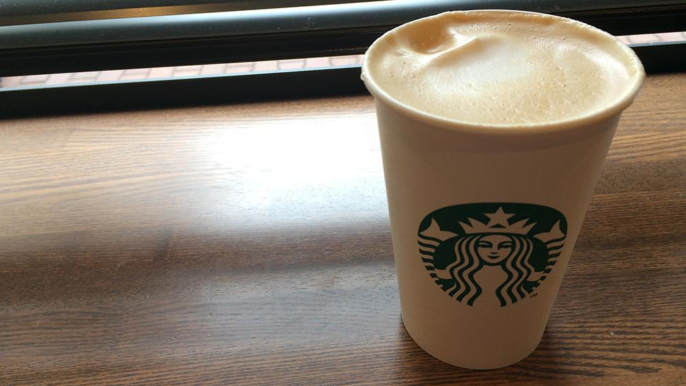 Starbucks coffee new latte