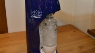 家で簡単に炭酸水が作れる「バブルバブル ソーダメーカー」がいい感じ!