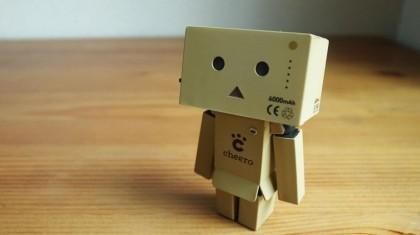 リボルテック ダンボー mini cheero ver. が小さくて可愛い