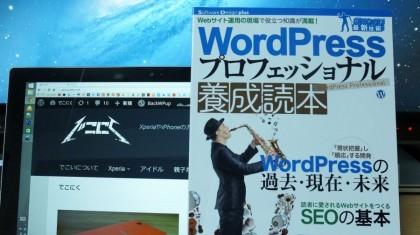 「WordPress プロフェッショナル 養成読本」それはもうWordPressを網羅している本でした