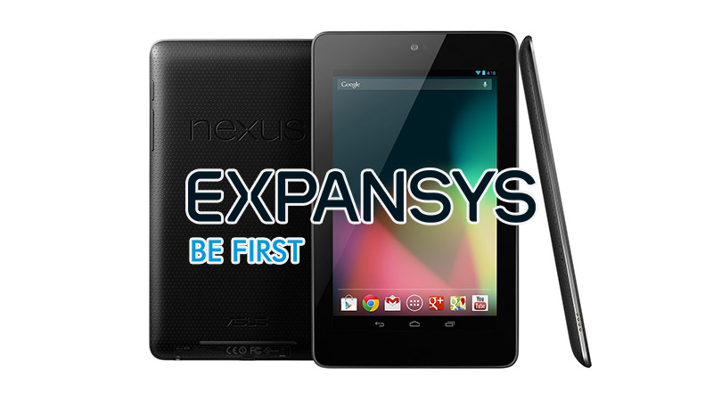 Nexus 7 expansys sale