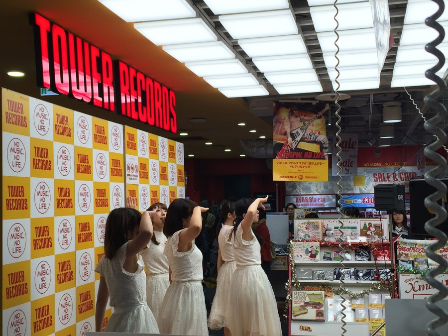 starmarie tower records shibuya instore event_02