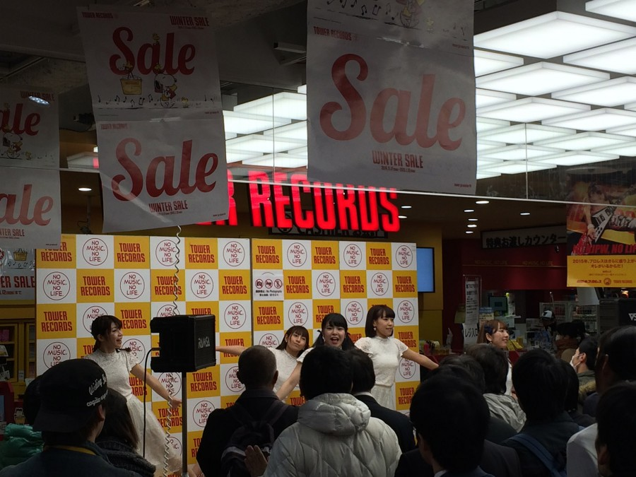 starmarie tower records shibuya instore event_04