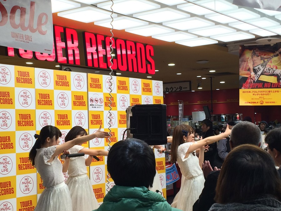 starmarie tower records shibuya instore event_05