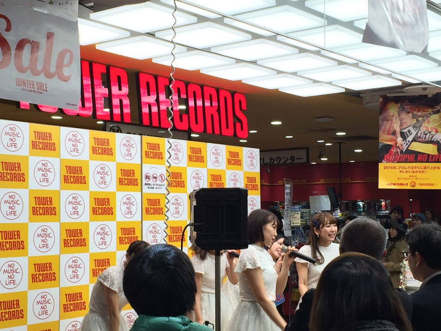starmarie tower records shibuya instore event_06