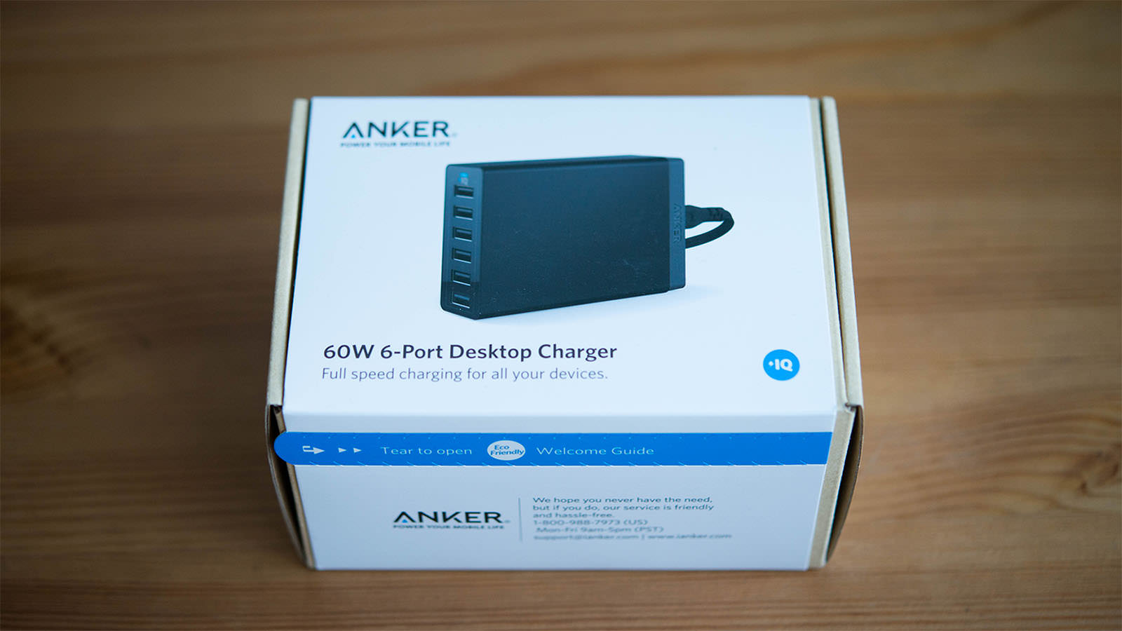 ANKER 60W 6Port USB charger review_01