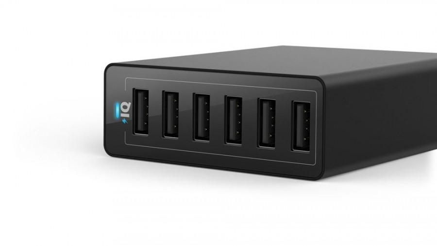 Ankerの「60W 6ポート USB急速充電器」が発売開始!数量限定で発売記念価格の2,999円だからポチった