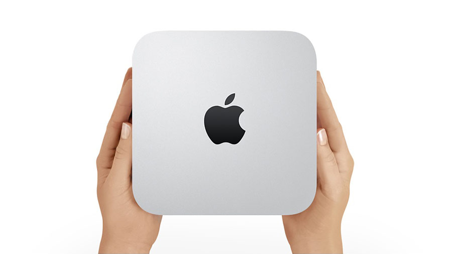 Mac mini power up