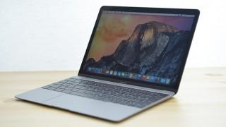 新型 MacBook (1.1GHz / 256GB SSD)スペースグレイ フォトレビュー