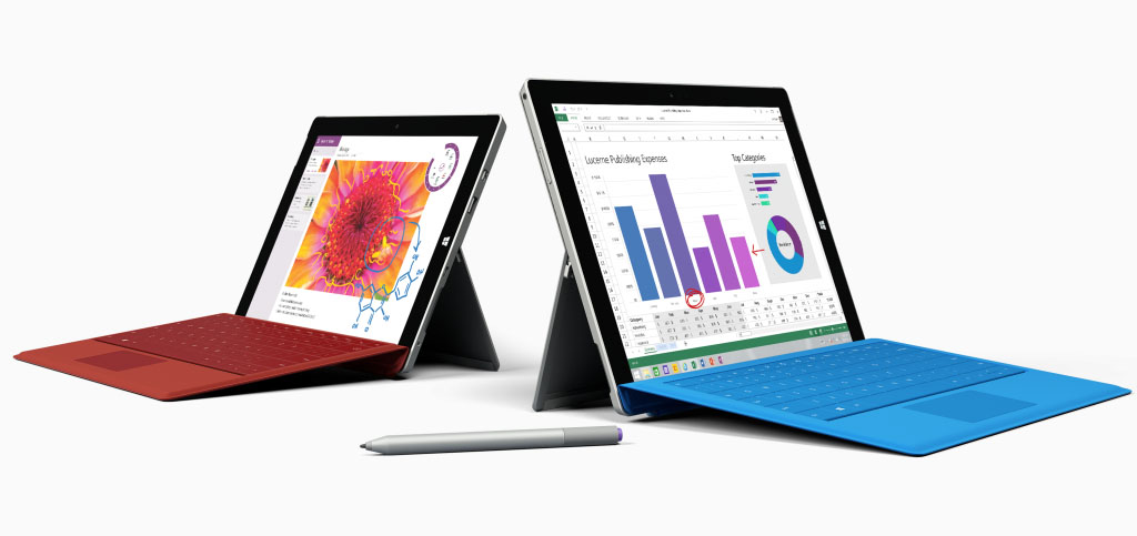 SUrface 3 and Surface Pro 3