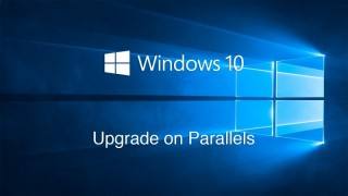 Parallels DesktopのWindows 8.1をWindows 10へアップグレードした