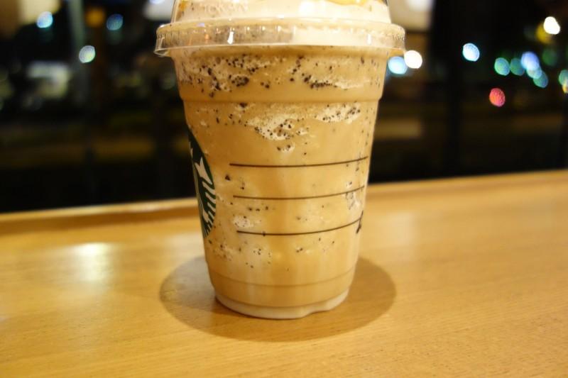 コーヒー&クリーム フラペチーノ with コーヒービッツ STARBUCKS COFFEE