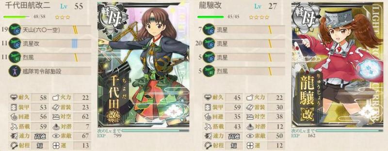 艦これ 秋イベ 2015 E-1 乙 攻略 装備 1