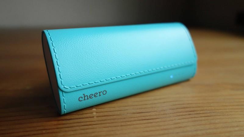 革っぽい質感でなんかちょっと違う感じがよいモバイルバッテリー「cheero Grip 4」レビュー
