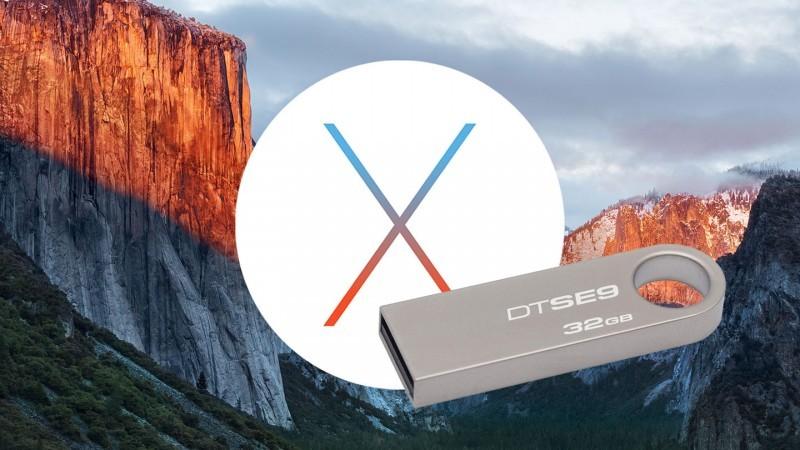 OS X El CpaitanのインストールディスクをUSBメモリに作る方法